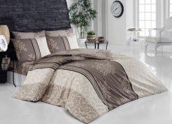 Eleganckie łóżko z pojemnikiem do sypialni